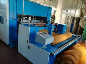 China Low Noise Automatic Nonwoven Car Carpet Making Machine , 130kw - 280kw Power on sale
