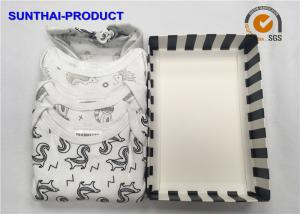 China 100% Cotton Baby Clothes Gift Set 3 Pack Bodysuits For Infants OEM Available on sale