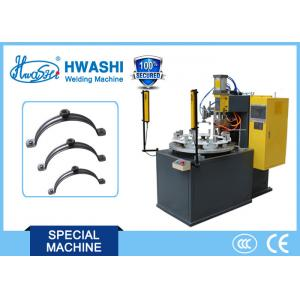 China Pipe Clamp Nut Automatic Welding Machine With Rotary Table And Discharge Arm on sale