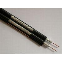 Dual RG6 Coaxial Cable for CATV and MATV , PVC Jacket 75 ohm Video Cable