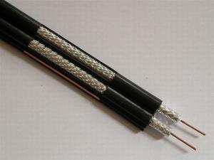 China UL Standard RG59 Dual Coaxial Cable  75 Ohm RG Coaxial Cable For CATV CCTV System, RG59 Coaxial Cable on sale