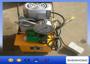 China Small Volume GYB-700 220V Hydraulic Pump Electric Motor Single Acting 1400R / Min on sale