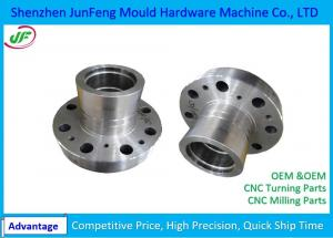 China Precision CNC Lathe Machine Parts / Precision Aluminum CNC Machining Parts on sale
