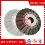 abrasive cutting disc for glass