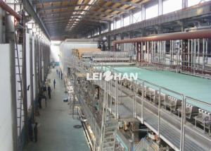 China Waste Packaging Cardboard Box Manufacturing Machine , Fluting Paper Making Project on sale