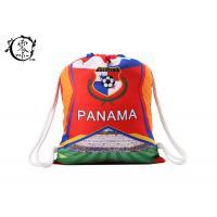 China Panama Custom Pull Cinch Gym Bag Waterproof Sports Football Team on sale
