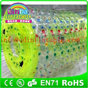 China Inflatable water toy inflatable water game inflatable roller ball inflatable water roller on sale
