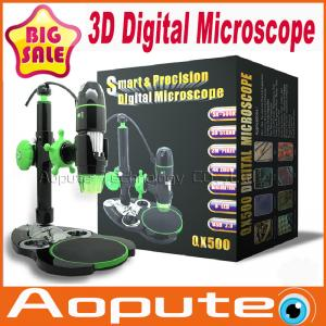 China 3D USB Digital Microscope,Handheld Measuring Microscope USB Microscope Camera 500x Zoom,2M Resolution on sale