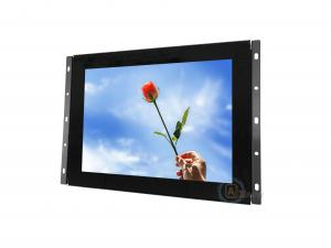 China 4A 48W Open Frame LCD Monitor Capacitive Touch Screen 10.1 Inch With Hdmi VGA Input on sale