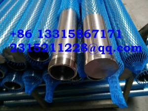 China perfect roundness Water Well Screen / Strainers Pipe (WATER FILTER) / wire wrapped screen tube on sale