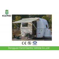 China Easy Towing Camper Van Trailer , Compact Lightweight Rv Trailers With Awning on sale