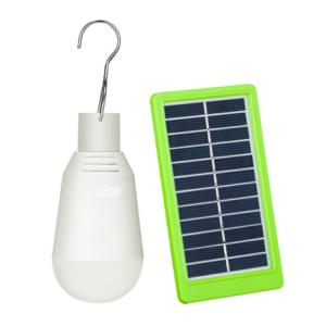 China Solar Portable Led Bulb Outdoor Camping Lights Rechargeable LED Bulb Light for Camping on sale