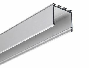 China Corner Mounted Anodized Silver / Black Led Aluminium Profile For Light Strip on sale