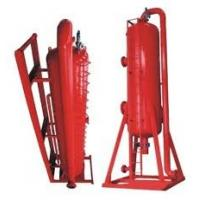 2000kg ZYQ series Gas liquid solid separator, Poor Boy Degasser for well drilling solids