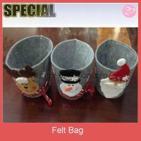 Felt christmas gift basket,gift case