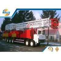 Rotary Drilling Equipment Truck Mounted Workover Oil Rig 100t With API Standard