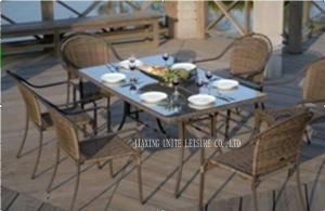 Quality All Weather Deep Seating Outdoor Furniture / Wicker Lawn Furniture For Dining for sale