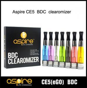 China China e-cigarette Supplier SEHOYA Vapor Aspire CE5 BDC atomizer Glass Version on sale