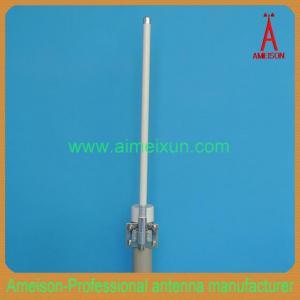 China High Performance Outdoor 2.4GHz 8dbi Omni Fiberglass WiFi Antenna on sale