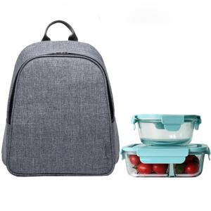 China OEM aluminum lining  L29cm Thermal Insulated Lunch Bag on sale