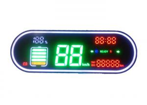 China Electric Bicycle LED Display Components , LED Display Panel NO M033-4 High Reliability on sale