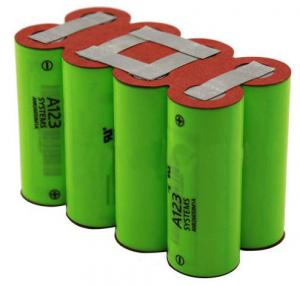 China A123 12V 4.6Ah LiFePO4 Battery Packs on sale