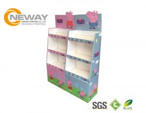 China Recycled Corrugated Retail Cardboard Pallet Display For Children Toy on sale
