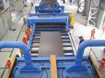 Compact Structure Roller Conveyor Shot Blasting Machine High Performance