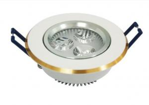 China High Lumen Round Led Ceiling Lamp White Spotlights Kitchen Aluminum Material 5 Watt on sale