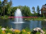 China Small Size Garden Floating Water Fountain Full Set  For Different Ponds And Lakes Different Shapes wholesale