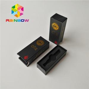 China Custom Size Vape Cartridge Packaging Boxes Cbd Atomizer Kit Matte Surface Finish on sale