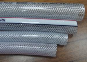 China Flexible PVC Braided Hose Food Grade Clear Drinking Water Pipe SGS Standard on sale