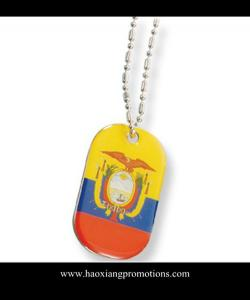 China customized die casting metal army dog tag in China on sale