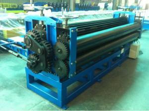 China Tipo de acero cubierto color rollo del barril de la hoja de la techumbre que forma velocidad de la máquina on sale