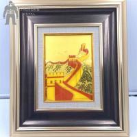 Home Decoration Metal Frame Art , Aluminium Steel Brass Metal Photo Frame