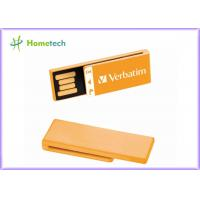 Super Mini Orange USB Flash Drive 64GB 32GB 16GB 8GB 4GB Pen Drive usb 2.0 memory stick U disk for school gift