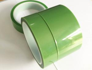 China Customized PET Silicone Tape Coating With Organic Adhesive On One Side on sale