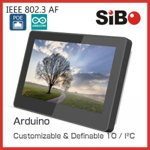 China Smart Home Control 7 Inch Flush Mount Industrial POE Touch Tablet With Android OS RS485 on sale