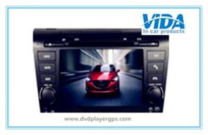 China MAZDA3 Two DIN 7'' Car DVD Player with gps/TV/BT/RDS/IR/AUX/IPOD on sale