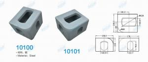 China 10100 Container fittings - corner fittings (Figure) international standard corner pieces, container angle pieces on sale