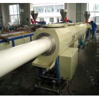 PVC Pipe Extruder / Plastic Pipe Production Line