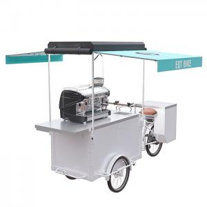 China Customized Mobile Coffee scooter Convenient Operation With Large Inside Capacity on sale