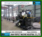 China Top Supplier CNC Angle Line For Punching, Shearing And Marking Machine in Tower Industry
