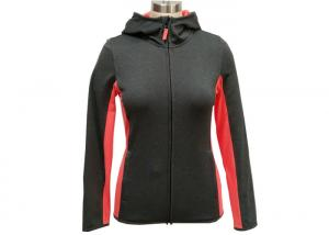 China Trendy Adult Fashion Sportswear Ladies Activewear Jackets Sports Zip Up Hoodies Breathable on sale