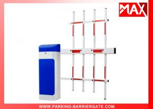 China Automatic Close 3s Smart Parking Barrier Heavy Duty Motor With LED And Rubber Arm on sale