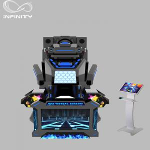China 1 Seat Real Track VR Racing Simulator / 360 Degree Electric Motion  Car Racing Machine on sale