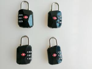 China Free Samples TSA Travel Locks , TSA Compliant Lock Inspection Indicator Easy Read Dial on sale