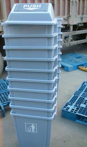 China Kitchen rubbish bin cheap plastic storage bins on sale