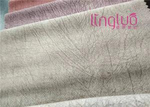 China Noble And Elegant Gloss Crushed Velvet Upholstery Fabric No Hair Loss on sale