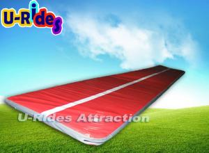 China 10M Long Flat Gymnastics Air Track Jumping Tumbling Track Trampoline For Kids on sale